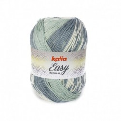 Pelote de Laine Katia Easy Jacquard - 6 coloris