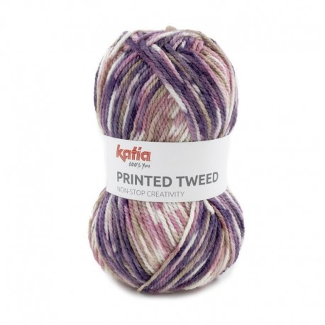 Pelote de Laine Katia Printed Tweed