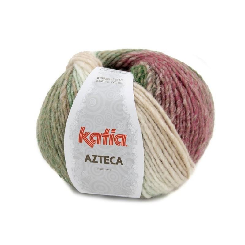 Pelote de laine Katia Azteca - 12 coloris