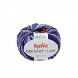 Pelote de Laine Katia Degradé Sun - 6 coloris