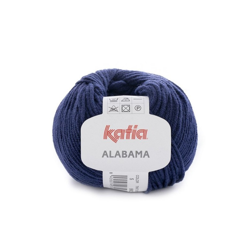 Pelote de Laine Katia Alabama - 12 coloris