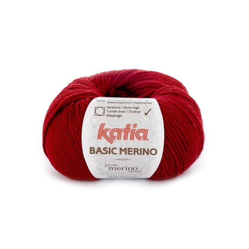 Pelote de Laine Katia Basic Merino - 18 coloris