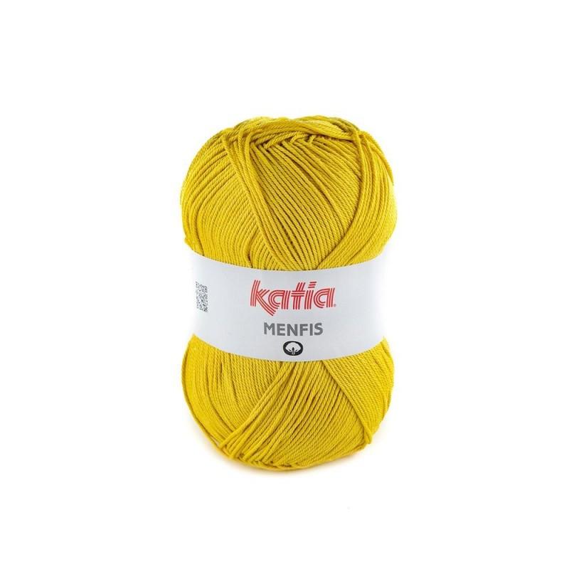 Pelote de laine Katia Menfis - 6 coloris