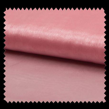 Tissu Organza Uni Rose
