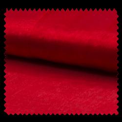 Tissu Organza Uni Rouge