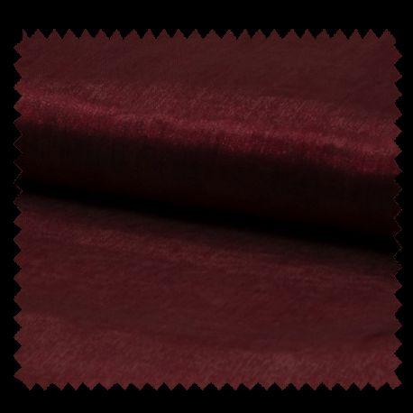 Tissu Organza Uni Bordeaux
