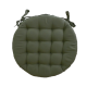 Galette de Chaise Ronde Neo Olive