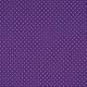 Tissu Imprimé Epingle Pois Violet
