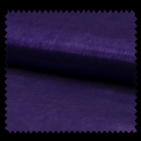 Tissu Organza Uni Violet