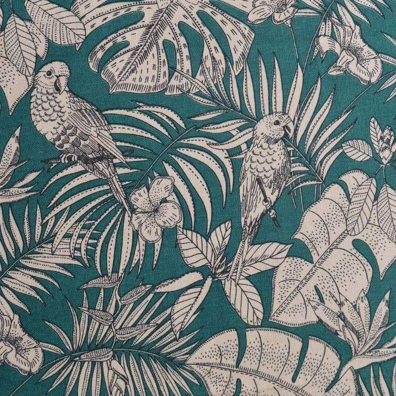 Tissu India Toile Coton Imprimée Sapin