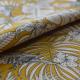 Tissu India Toile Coton Imprimée Jaune