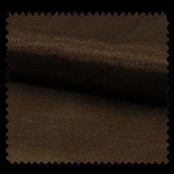 Tissu Organza Uni Choco