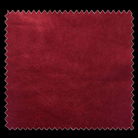 Tissu Suédine Bordeaux