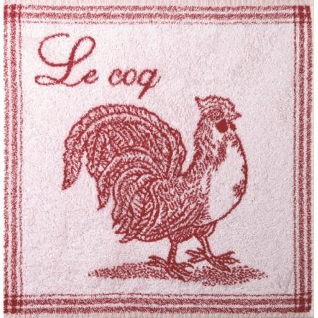 Carré Eponge Coq Rouge