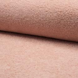 Tissu Eponge Uni Nude
