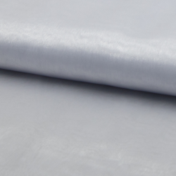 Tissu Organza Uni Blanc