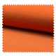Tissu Velours Milleraie Uni Mandarine