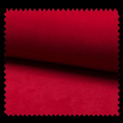 Tissu Velours Milleraie Uni Rouge