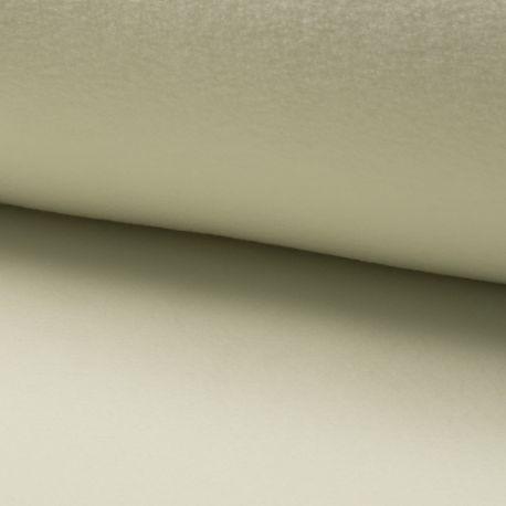 Tissu Polaire Uni Ecru