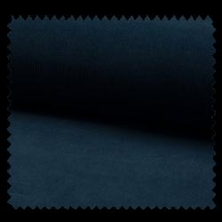 Tissu Velours Milleraie Uni Bleu
