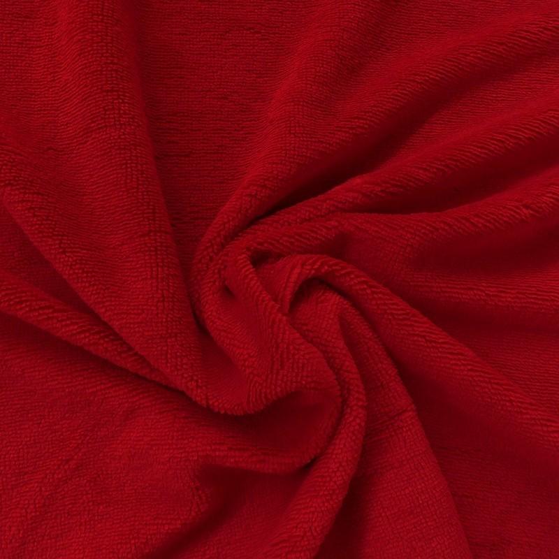 Tissu Bambounette Rouge
