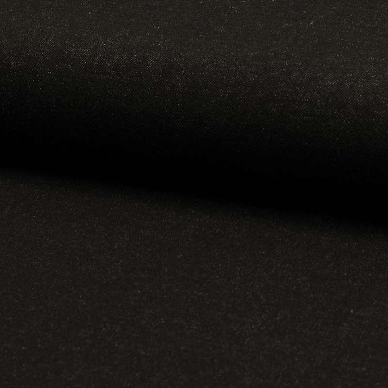 Tissu Jeans Coton Noir