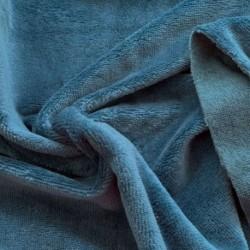 Tissu Eponge Bambou Petrole