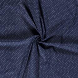 Tissu Jeans Forme Bleu