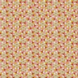 Tissu Nippon Imprimé Rose