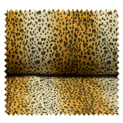 Tissu Fausse Fourrure Panthère
