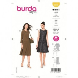 Patron Burda 6099 Robe 34/44