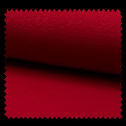 Tissu Bord Cote Uni Rouge