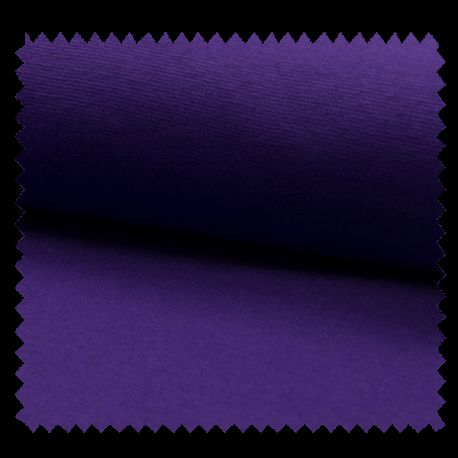 Tissu Bord Cote Uni Violet