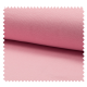 Tissu Bord Cote Uni Rose