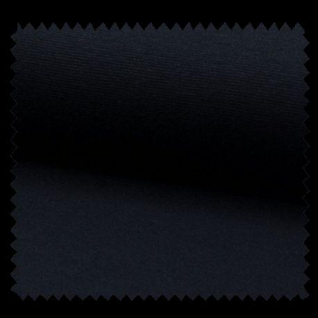 Tissu Bord Cote Uni Marine