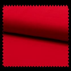Tissu Mousseline Unie Rouge