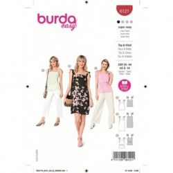 Patron Burda 6121 Top/robe 34/44