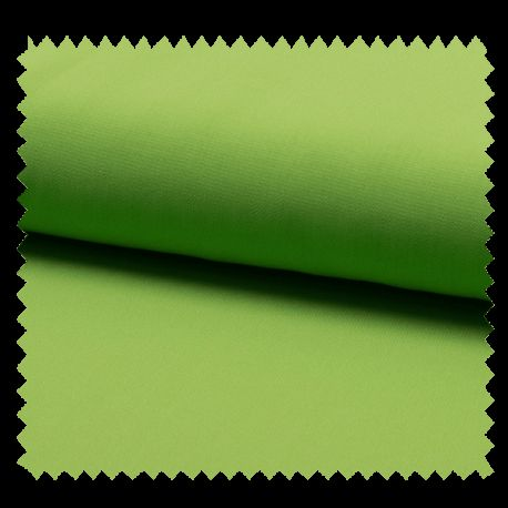 Tissu Mousseline Unie Anis