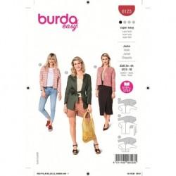 Patron Burda 6123 Veste 34/44
