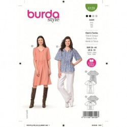 Patron Burda 6129 Robe 34/44