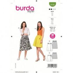 Patron Burda 6130 Jupe 34/44