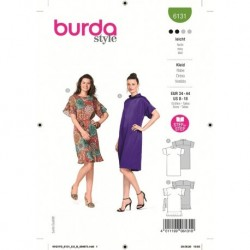 Patron Burda 6131 Robe 34/44