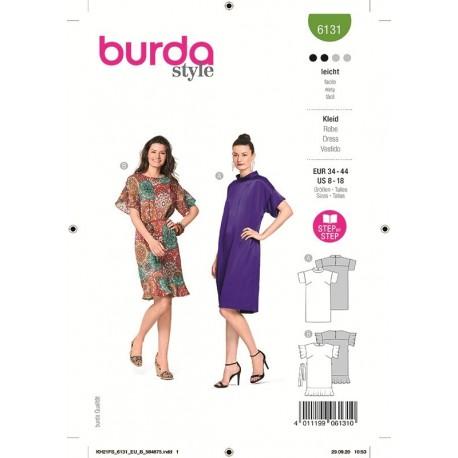 Patron Burda 6131 Robe 34/44
