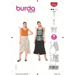 Patron Burda 6132 Debardeur 34/44