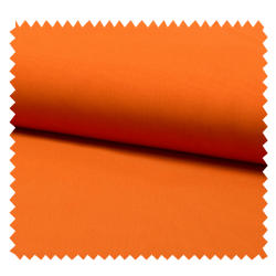 Tissu Mousseline Unie Orange