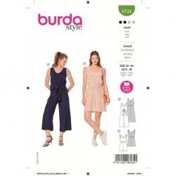 Patron Burda 6134 Combinaison 34/44