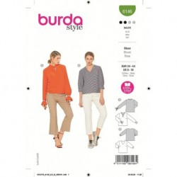 Patron Burda 6146 Blouse 34/44