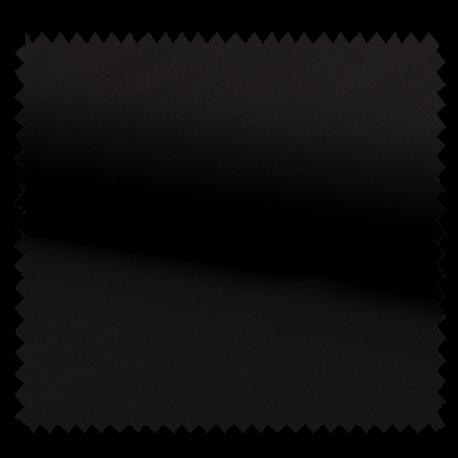 Tissu Mousseline Unie Noir