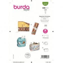 Patron Burda 9276 Creative Accessoire Salle DE Bain