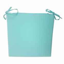Galette de Chaise Ramatuelle Turquoise